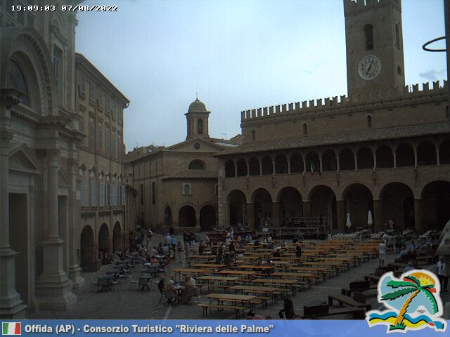 Webcam Offida IM Live webcamera